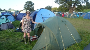 Our Tent for the weekend